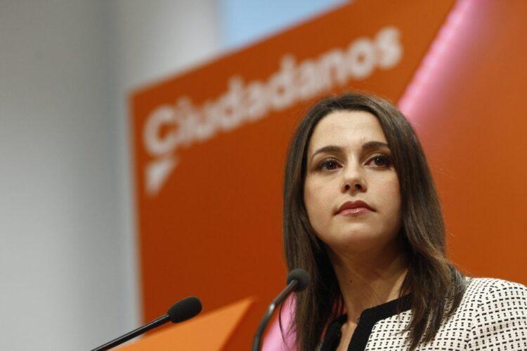 Inés Arrimadas a Pedro Sánchez: «Se ha arrodillado ante los separatistas»