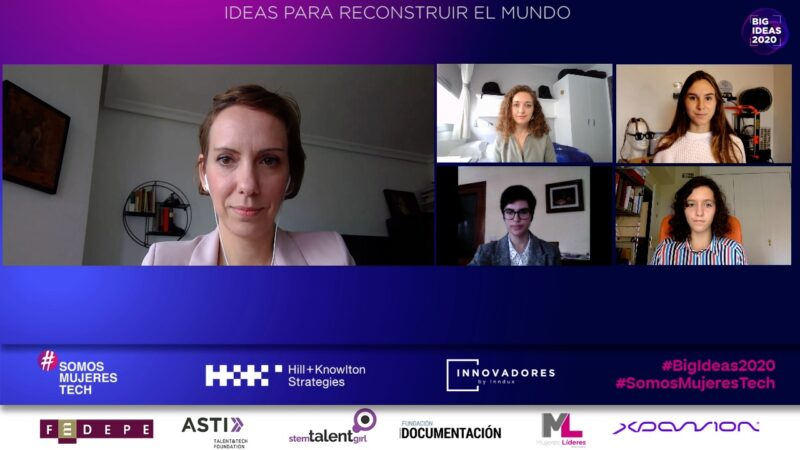 #BigIdeas2020: a 28 mujeres y niñas del ámbito tecnológico con propuestas disruptivas para reconstruir el mundo
