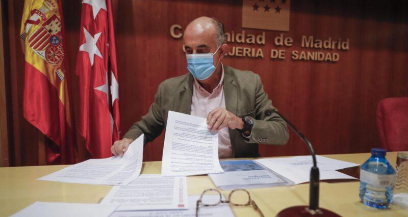 Madrid vacunará a la población de entre 40 y 49 años a partir de junio