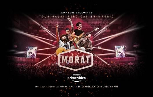 'Morat balas perdidas' , el exitoso concierto de la banda en el Wizink Center podrá verse en Amazon Prime
