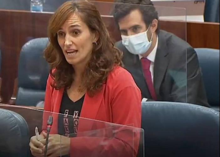 Mónica García advierte a Ayuso de que hará una oposición férrea: «Comienza la cuenta atrás para intercambiar sitios»