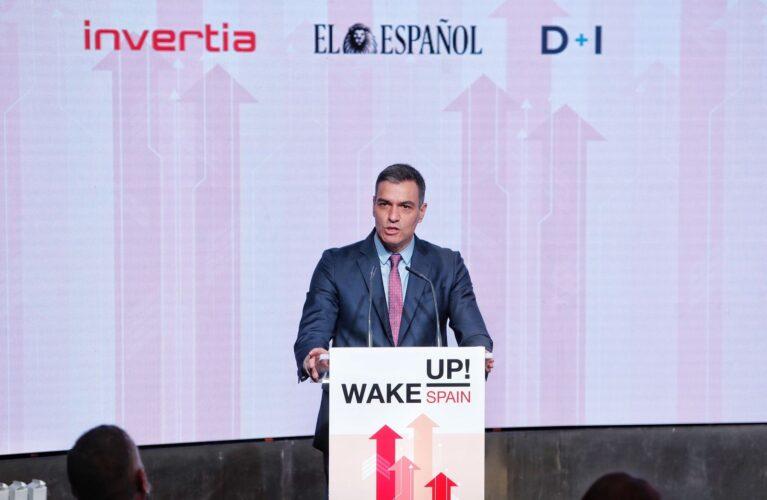 Sánchez, en Wake Up, Spain: «El plan de recuperación será una historia de éxito para España»
