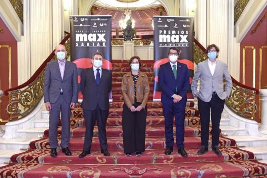 El Teatro Arriaga de Bilbao acogerá los premios Max 2021