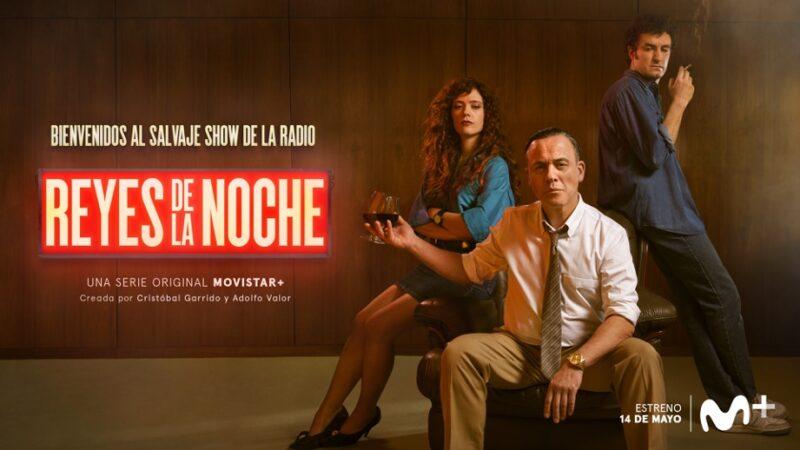 'Reyes de la noche', la nueva serie original Movistar + protagonizada por Javier Gutiérrez y Miki Esparbé