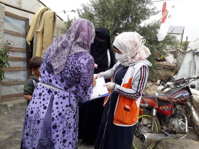 Los casos de COVID-19 se duplican en un mes en Siria donde solo 54.000 personas están vacunadas