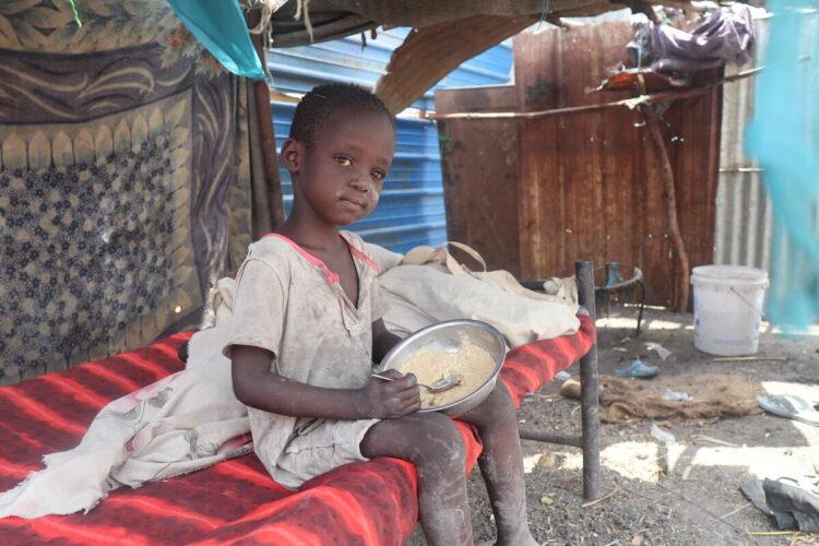 Los recortes de alimentos por el PMA en Sudán del Sur dejan a la población necesitada sin recursos para sobrevivir