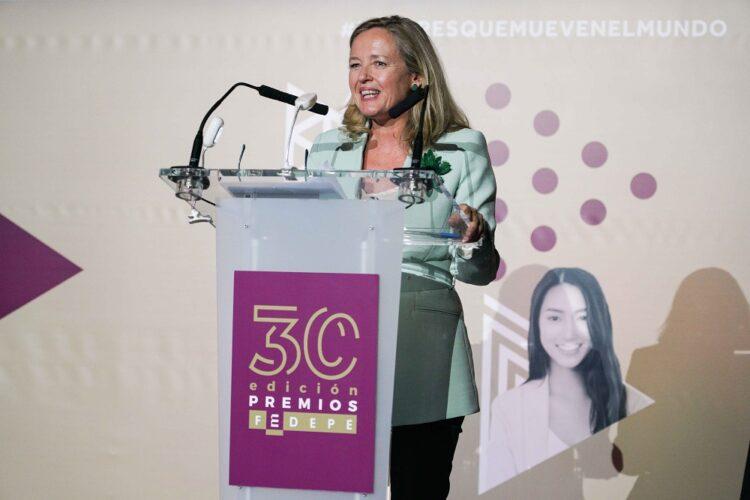"""Nadia Calviño: """"El PIB español crecería un 18% si se cerrasen las brechas de género"""""""