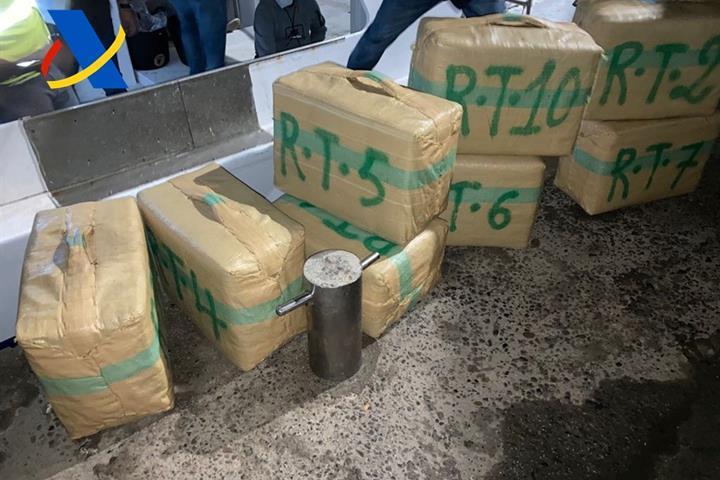 La Agencia Tributaria incauta más de 4.000 kilos de hachís en la operación 'Racel' en Murcia